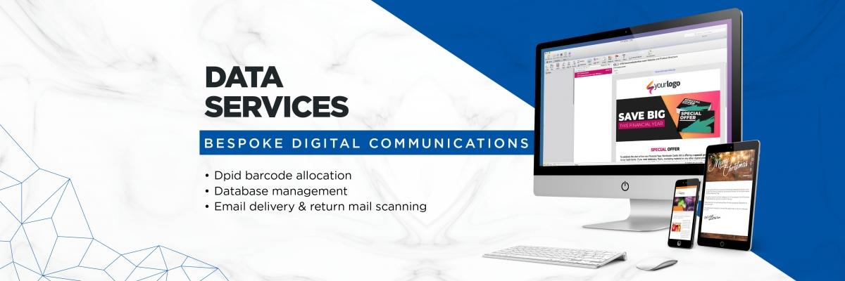 Home Page Slides Data DTS logo mailhouse direct mail mailing large format digital print graphic design fulfillment fulfilment post Australia Sydney dm edm email