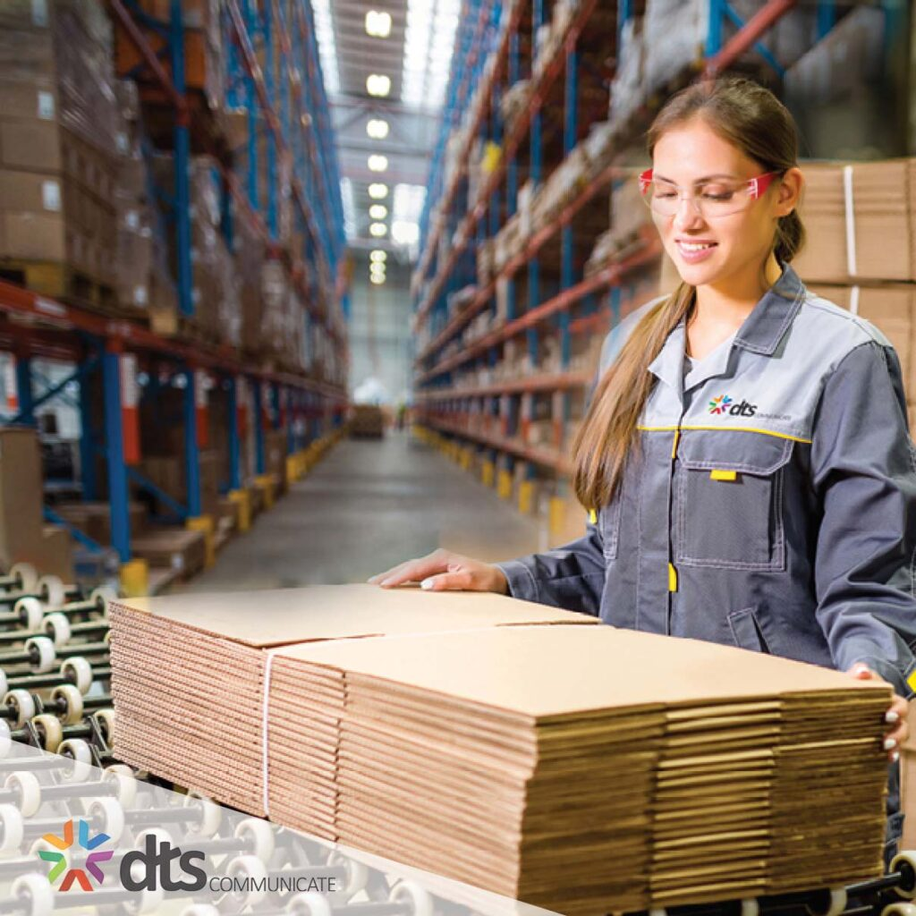 New Fulfilment Page Warehouse Worker DTS SENSES SENSES DIRECT mailhouse direct mail mailing fulfillment fulfilment post Australia sydney dm 3PL Pick Pack storage