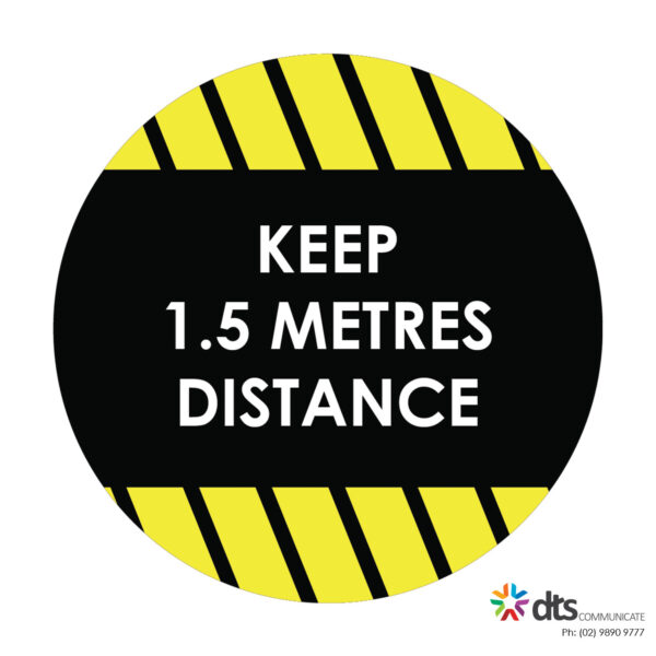 XLART DTS Covid19 Covid Floor Stickers Decals Social Distancing Sydney Melbourne Australia keep distance style 21
